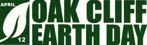Oak Cliff Earth Day LOGO WITH TEXT